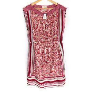 LOFT Outlet Dress Size Large Womens Patterned